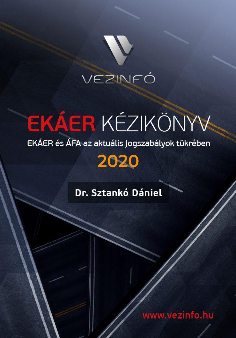 EKÁER 2020 szakkönyv